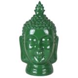 Tête de Bouddha vert